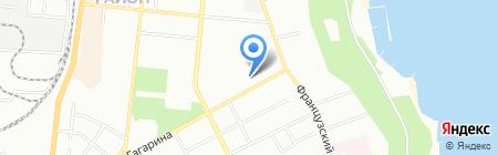 Специализированная школа-интернат №2 I-III ступеней с углубленным изучением английского языка на карте Одессы