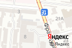 Схема проезда до компании Экологические технологии ХХI в Одессе