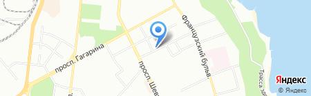 Глобал Сервис на карте Одессы