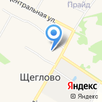 Шапочка на карте Санкт-Петербурга