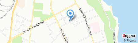 Каприз на карте Одессы