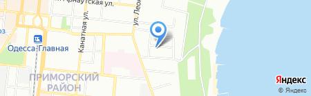 Casa D`italia на карте Одессы