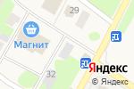 Схема проезда до компании Продовольственный магазин в Щеглово
