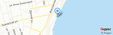 Песок на карте Одессы