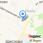 Щегловская средняя общеобразовательная школа на карте Санкт-Петербурга