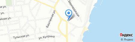 Музыкальная кухмистерская на карте Одессы