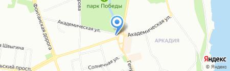 Японский клуб на карте Одессы