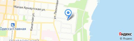 Alpha Crew Ltd на карте Одессы