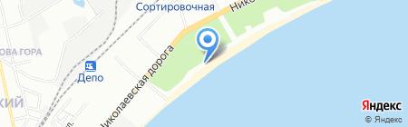 У Солохи на карте Одессы