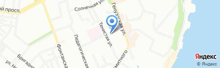 Деварана на карте Одессы