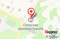 Схема проезда до компании Алина в Беломестном