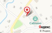 Схема проезда до компании Полушка в Ульяновке