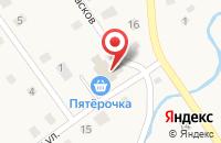 Схема проезда до компании Пятёрочка в Ульяновке