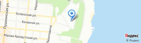 Примэкспресс-Актис на карте Одессы