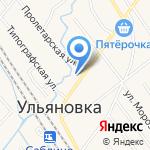 Магазин подарков на карте Санкт-Петербурга