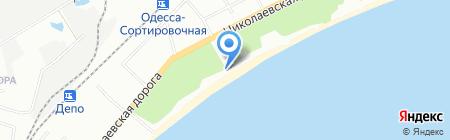 Гольфстрим на карте Одессы