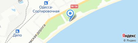 У Акоба на карте Одессы