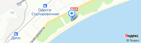 BRP-центр на карте Одессы