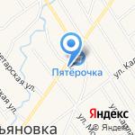 Магазин хозяйственных товаров на карте Санкт-Петербурга
