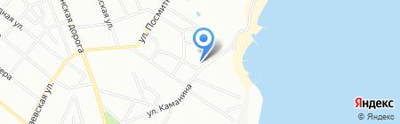 Вилла Неаполь на карте Одессы