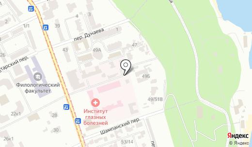 Банкомат УКРЕКСІМБАНК. Схема проезда в Одессе