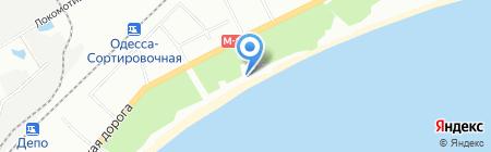 Туборг на карте Одессы