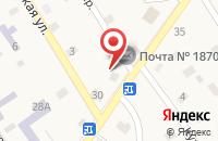 Схема проезда до компании Почтовое отделение №187010 в Ульяновке