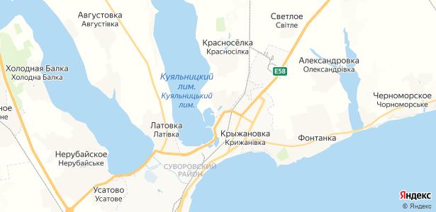 Корсунцы на карте