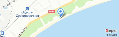 Робинзон на карте Одессы