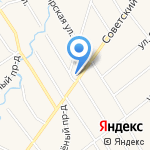Василек на карте Санкт-Петербурга