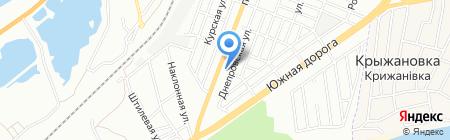Шашлычный дворик на карте Одессы