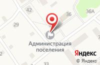 Схема проезда до компании Администрация п.г.т. Ульяновка в Ульяновке