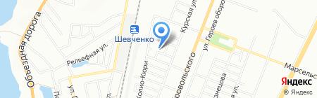 Одесская общеобразовательная школа №48 на карте Одессы