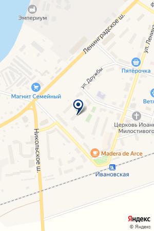 АУДИТОРСКАЯ КОМПАНИЯ ПРАКТИК-АУДИТ на карте Кировска