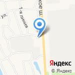 АЗС Никольское на карте Санкт-Петербурга