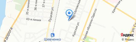 Детский сад-ясли №42 на карте Одессы