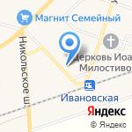 Эдан на карте Санкт-Петербурга