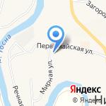 Детский сад №10 на карте Санкт-Петербурга