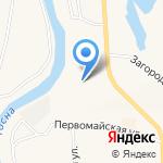 Вираж на карте Санкт-Петербурга