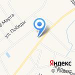 Ульяновская средняя общеобразовательная школа №1 на карте Санкт-Петербурга