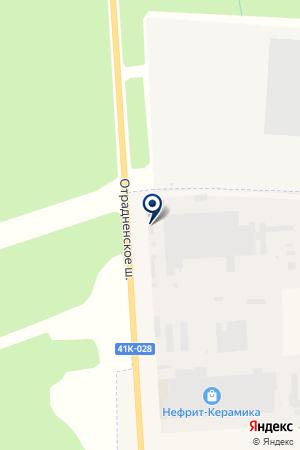 Модерн-Керамика на карте Никольского