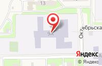 Схема проезда до компании Средняя общеобразовательная школа №3 в Никольском