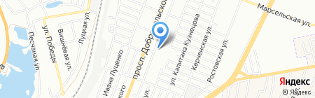 Titul на карте Одессы