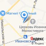Почтовое отделение №187332 на карте Санкт-Петербурга