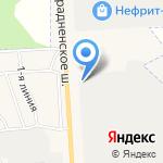 Керамзит на карте Санкт-Петербурга