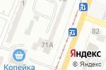 Схема проезда до компании Просто стрижка в Одессе