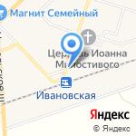 Мясной магазин на карте Санкт-Петербурга
