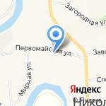 Магазин домашнего текстиля и товаров для рукоделия на карте Санкт-Петербурга