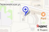 Схема проезда до компании СВАДЕБНЫЙ САЛОН НАТАЛИ в Никольском