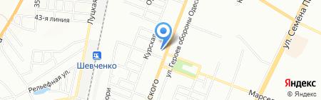 Сеть аптек на карте Одессы